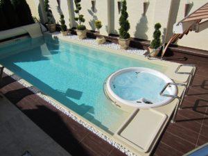 keramický bazén Sundeck