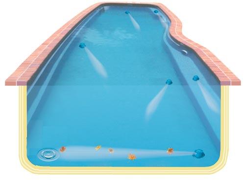 Samočistiaci systém Vantage spraví z vášho bazéna bezúdržbový bazén