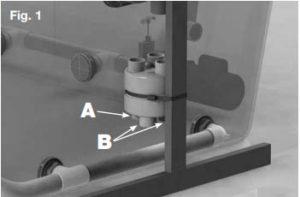 Návod na inštaláciu distribučnej jednotky protiprúdnych systémov Delfino