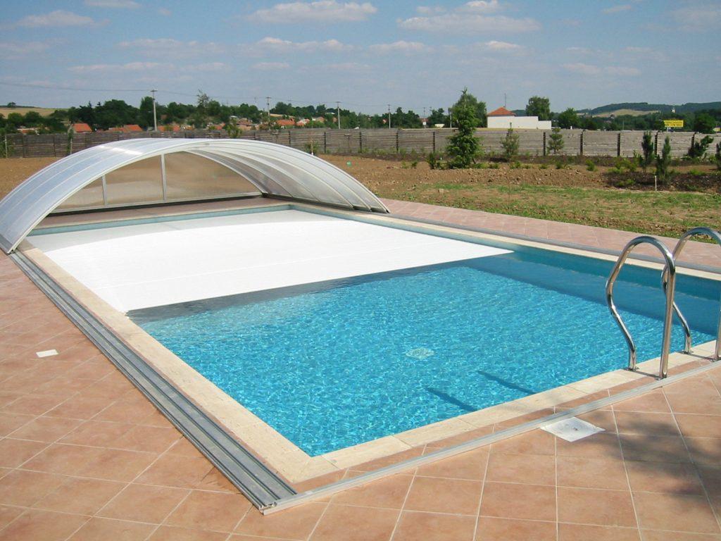 lamelové prekrytia bazénov