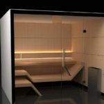 moderné sauny line